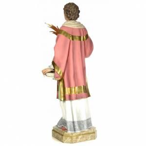 Statue Saint Étienne martyr 150 cm pâte à bois finition élégante s3