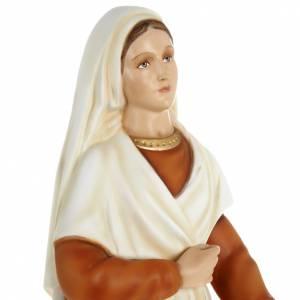Statue Sainte Bernadette 63 cm fibre de verre s7