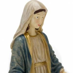 Statue Vierge Miraculeuse résine colorée 40 cm s2