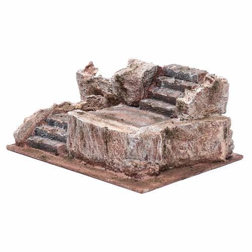 Steintreppe für Krippe 10x25x15cm s2