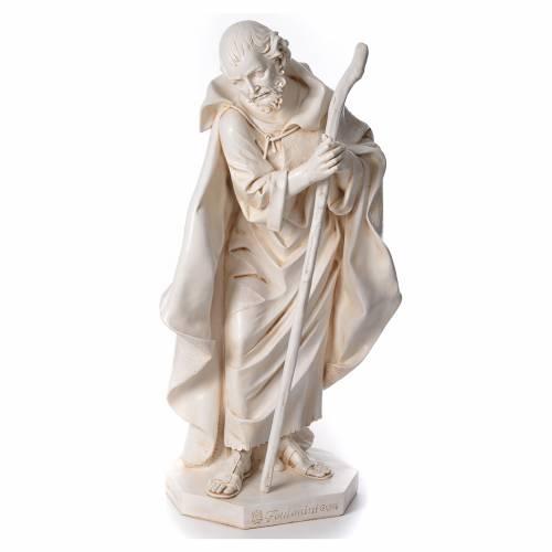 STOCK Nativité 125 cm résine Fontanini fin. Sienne s2