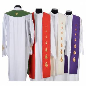 Stole, 80% polyester 20% wool with Holy Spirit decoration s2
