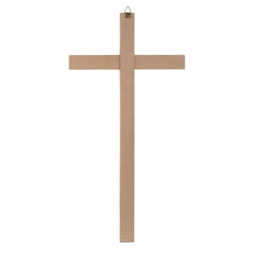 Straight cross in natural wood s2