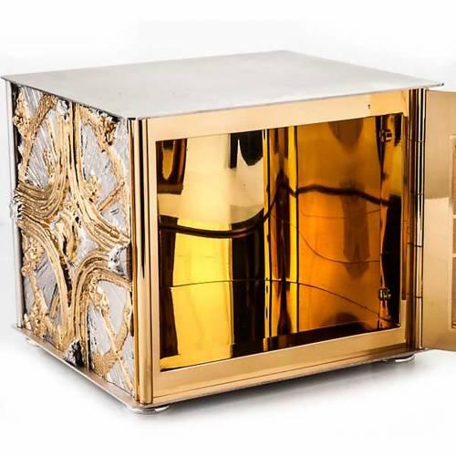 Tabernacle de table , croix dorée s3
