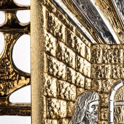 Tabernacle laiton fondu Souper à Emmaus s3