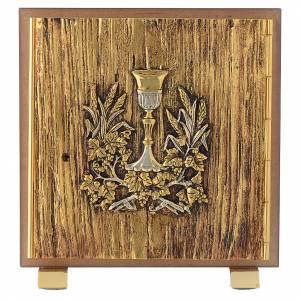 Tabernacoli: Tabernacolo legno similradica fusione ottone Calice