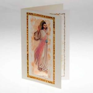 Tarjeta de felicitación con pergamino Jesús Miseri s2