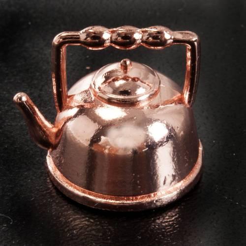 Teiera metallo presepe 1,5 cm s2