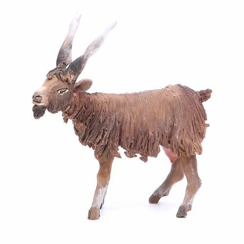 Terracotta goat 18cm Angela Tripi s2