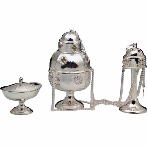 Thurible and Boat made of silver 800 s1