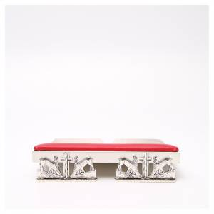 Tischpulte: Tischpult Hirsche an der Quelle, Messing