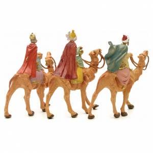 Tre Re Magi a cammello 6,5 cm Fontanini s2