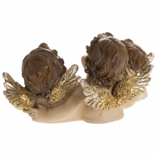 Tres angelitos con libro decoración de navidad s4