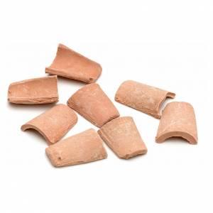 Tuiles en miniature résine 1,5x1 cm s2