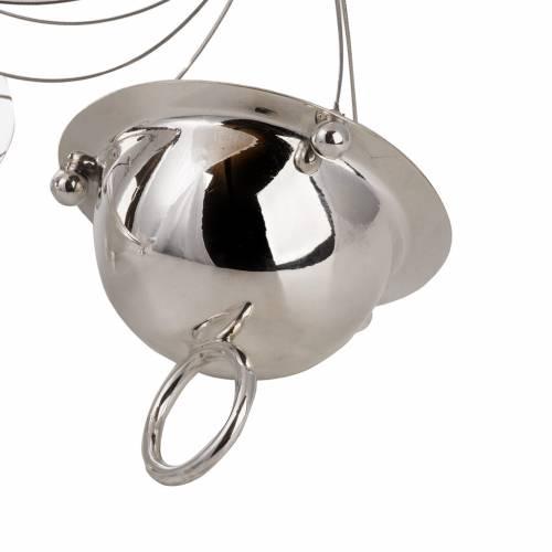 Turibolo conico e navetta ottone cavi acciaio s2
