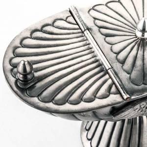 Turibolo e navetta cesellato decorato s8