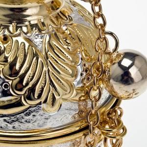 Turibolo stile ortodosso oro argento s6