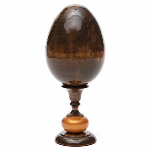 Uovo icona découpage Trinità Rublev tot h 20 cm s3