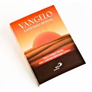 Évangile et Actes des Apôtres ed. de poche ITALIEN s1