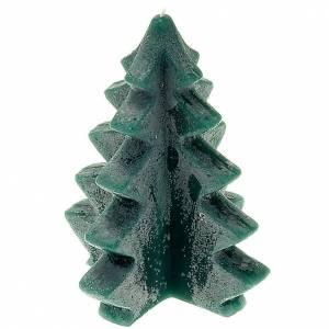 Velas Navideñas: Vela navidad pino verde