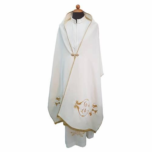 Velo omerale tessuto Vatican poliestere 100% s1