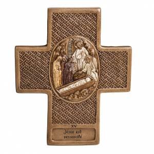 Via Crucis 15 stazioni 27 cm pietra Bethléem s1