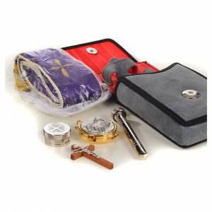 Travel Mass kits: Viaticum set chamois leatherette case