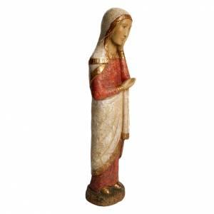 Vierge de Calvaire Roman 49 cm bois finition ancienne Bethleem s2