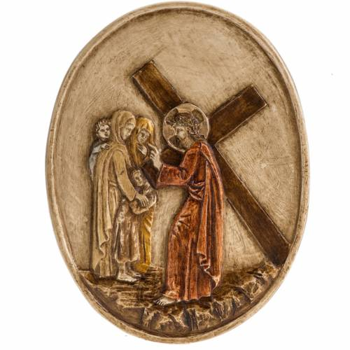VIII estación Vía Crucis piedra Bethléem s1