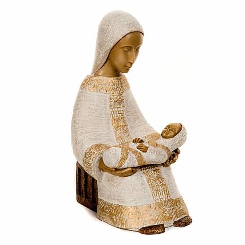 Virgen campesina con niño s2
