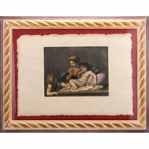 Virgen del silencio estampa florentina s1