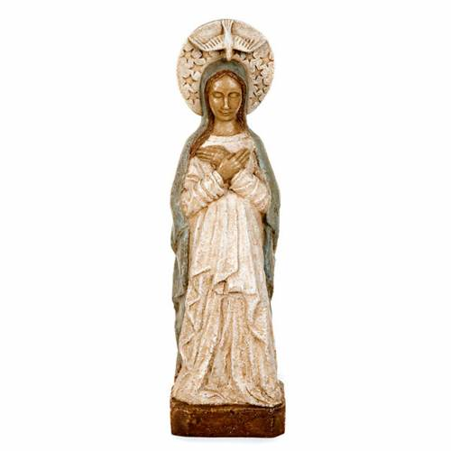 Virgin Mary of the Advent statue 57 cm s1