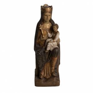 Virgin of Solsona statue in painted Bethléem wood, polychromati s1