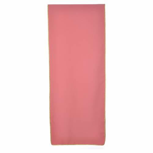 Voile de lutrin Chi-Rho IHS Alpha et Oméga 100% polyester s2