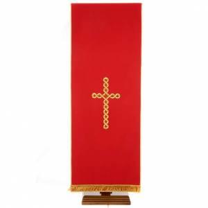 Voile de lutrin croix tortillon s4
