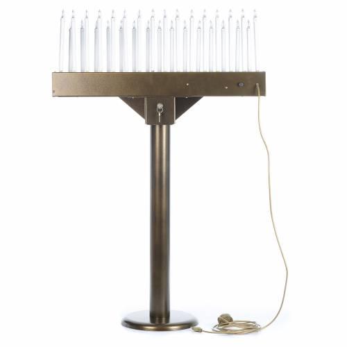 Votivo elettrico offerte a 31 candele lampadine 12 V pulsanti s4