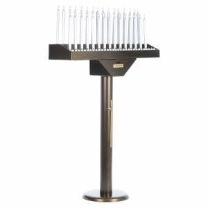 Votivo elettrico offerte a 31 candele lampadine 12 V pulsanti s2