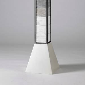 Świeczniki metal: Świecznik na ołtarz model Modulus