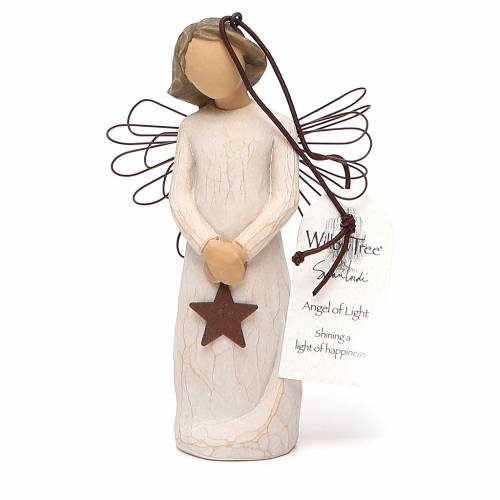 Willow Tree - Angel of Light (Ángel de la Luz) Ornament s5