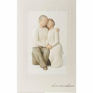 Glückwunschkarten Willow Tree: Willow Tree Card - Anniversary(Hochzeitstag) 21 x 14