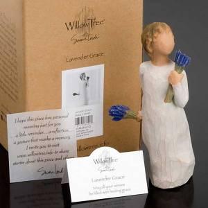 Willow Tree - Lavender Grace (bimba con lavanda) s5