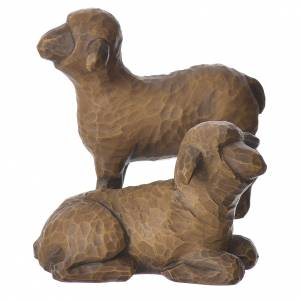 Willow Tree - Shepard and stable Animals (Berger avec animaux) 19cm s6