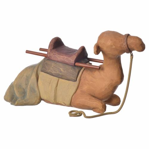 Willow Tree - Shepard and stable Animals (Berger avec animaux) 19cm s4