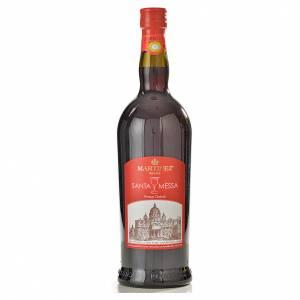 Wino mszalne Martinez i Morreale: Wino mszalne czerwone, słodkie Martinez