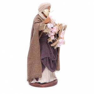 Woman with garlic for Neapolitan Nativity, 14cm s3