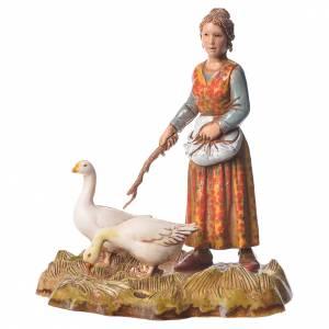 Women and trades 4 nativity figurines, 10cm Moranduzzo s3