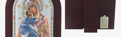 Sacred gilded icons