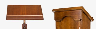 Lecterns and book stands