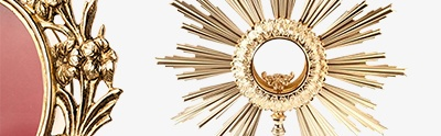 Monstrances, Chapel monstrances, Reliquaries in metal
