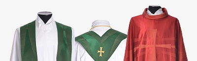 Vestments, Altar linens and Lectern covers